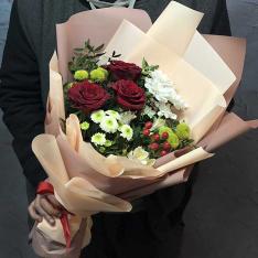 Букет цветов «Я влюблен» фото