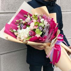Букет цветов «Яркие эмоции» фото
