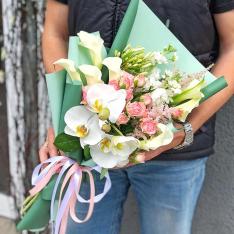 Букет цветов  «Юность» фото