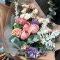 Букет цветов «Закат» фото