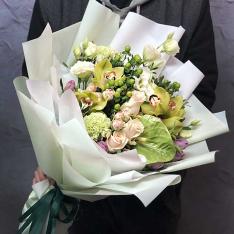 Букет цветов «Зазеркалье» фото