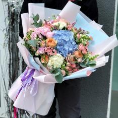 Букет цветов  «Жизнь прекрасна» фото