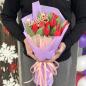 Букет тюльпанов в ассортименте «С любовью» фото