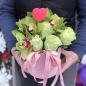Букет в коробке «Валентинка» фото
