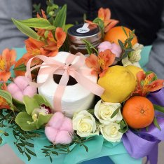 """Fruit and flower mix """"Jokes-jokes"""" photo"""