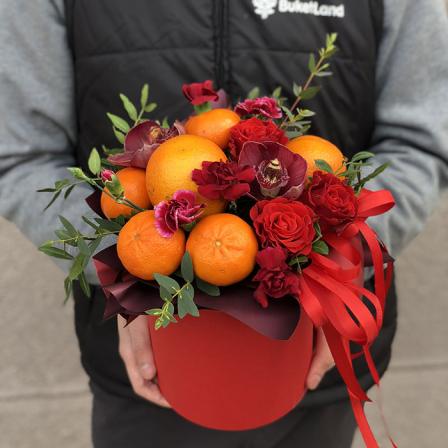 Фруктово-цветочный микс «Цитрусовый Рай» фото