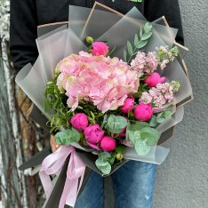 Авторский букет от флориста «Каролина» фото