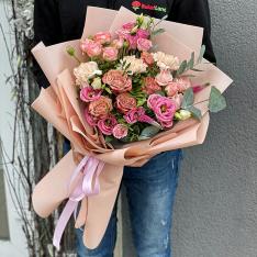 Авторский букет от флориста «Моника» фото