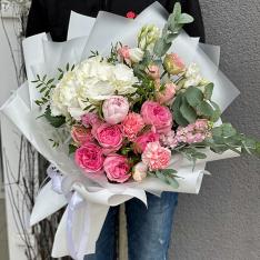 Авторский букет от флориста «Рианна» фото