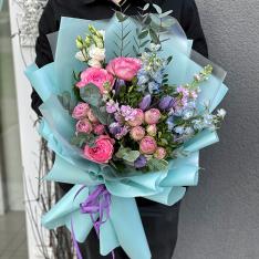 Авторский букет от флориста «Виола» фото