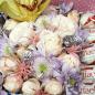 Коробочка с цветами и конфетами «Сад Эдема» фото