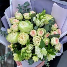 Букет цветов «Саванна» фото