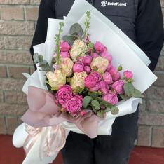Букет цветов «Дейзи» фото