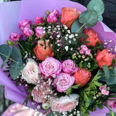 Букет цветов «Galaxy» фото
