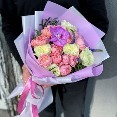 Букет цветов «Лолипоп» фото