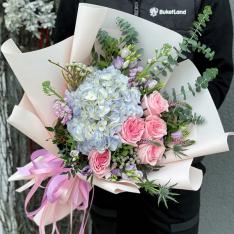 Букет цветов «Лоррен» фото