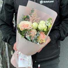 Букет цветов «Рафаэлка» фото