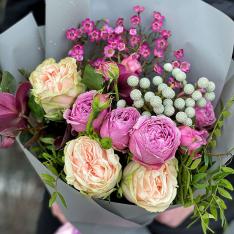 Букет цветов «Расцветай» фото