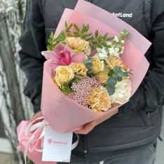 Букет цветов «Утренняя звезда» фото