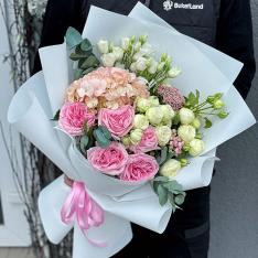 Букет цветов «Единственная» фото