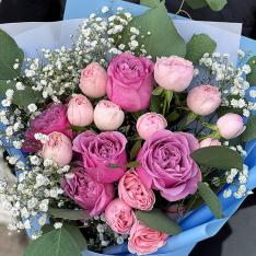 Букет цветов «В мечтах» фото