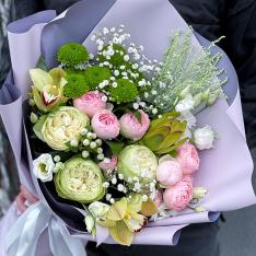 Букет цветов «Облачные Чувства» фото