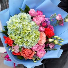 Букет цветов «Весенние Ароматы» фото