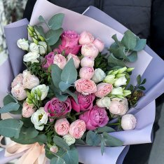 Букет цветов «Мелания» фото