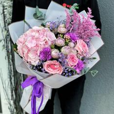 Букет цветов «Элеонора» фото