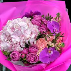 Букет цветов «Мон-Амур» фото
