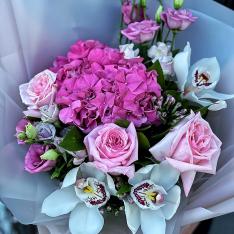 Букет цветов «Незабываемая» фото