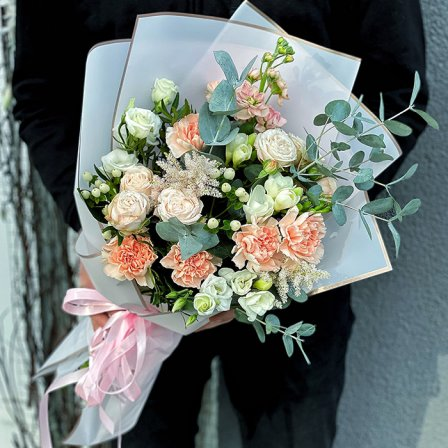 Букет цветов «Сладкий аромат» фото