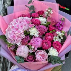 Букет цветов «Амалия» фото
