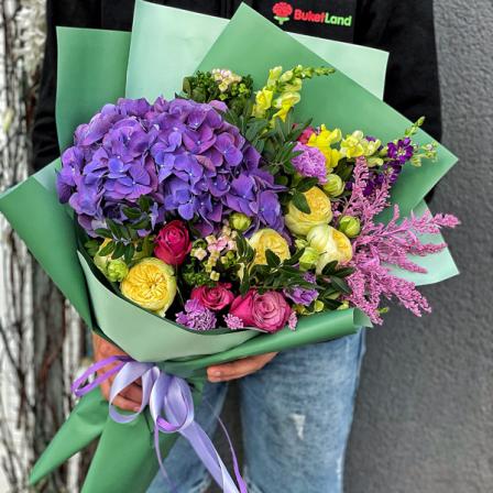 Букет цветов «Лаура» фото