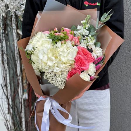Букет цветов «Ляля» фото