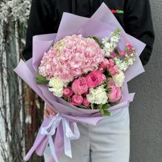 Букет цветов «Сабина» фото