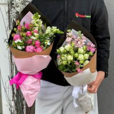 Букет цветов в ассортименте «Адель» фото