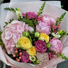 Букет цветов «Жасмин» фото