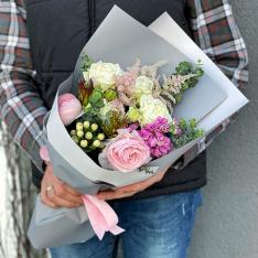 Букет цветов «Алхимия чувств» фото