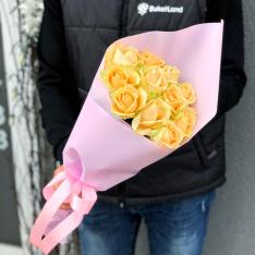 11 роз Пич Аваланч фото