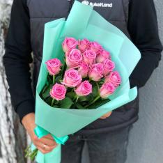 15 роз Аква фото