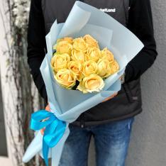 15 роз Пич Аваланч фото
