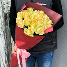 21 роза Пич Аваланч фото