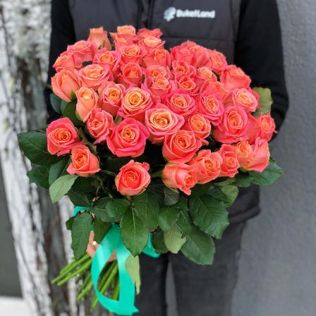 41 роза Мисс Пигги фото
