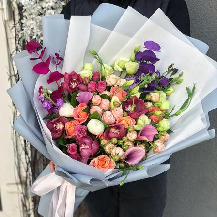 Букет квітів «Ніколь»
