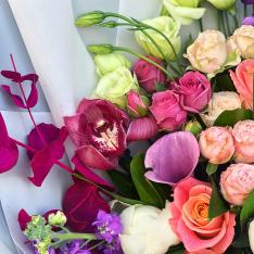 Букет цветов «Николь»  фото