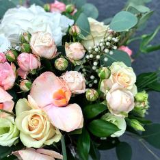Букет цветов «Сонэт» + ВАЗА В ПОДАРОК фото