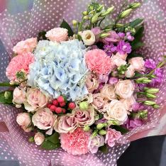 Букет цветов «Бланш» фото