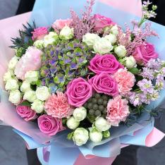 Букет цветов  «Эсперанса» фото
