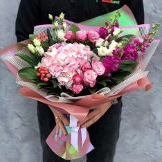 Букет цветов «Фэнтези» фото